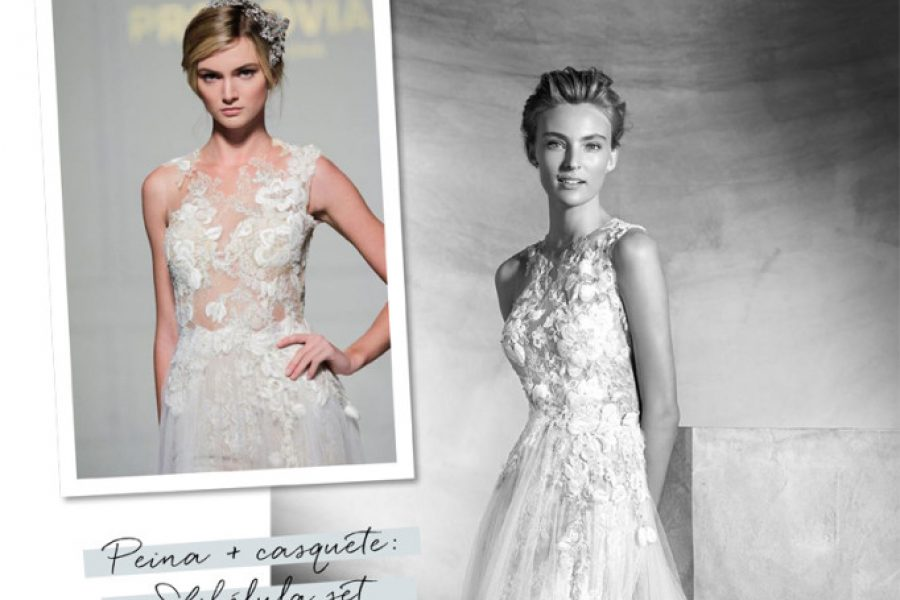 PRONOVIAS: ACCESSORI PER CAPELLIPRONOVIAS